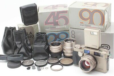 $ CDN3418.19 • Buy  Perfect SET【UNUSED Boxed】 Contax G2 Body + 28mm , 45mm , 90mm,TLA140 From JAPAN