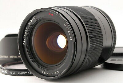 $ CDN854.44 • Buy [B V.Good] CONTAX 645 Carl Zeiss Distagon 45mm F/2.8 T* AF Lens From JAPAN 6757