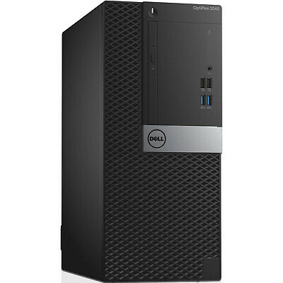 Dell OptiPlex 3040 MT Desktop Computer PC I5-6500 8GB Ram 240GB SSD & 1TB HDD • 249.99£