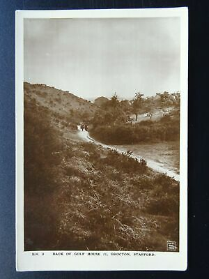 £14.75 • Buy Staffordshire Cannock Chase BROCTON Back Of GOLF COURSE - Old RP Postcard By WHS