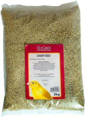 SkyGold Finest Plain Canary Seed 3Kg • 12.49£