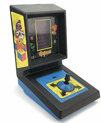 $ CDN126.81 • Buy 1983 Qbert Vintage Electronic Table Top Arcade Game By Parker Brothers WORKS