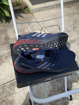 AU150 • Buy ADIDAS MENS NEW Ultra Boost 20 Mens Running Shoes - Blue And Red Size 13