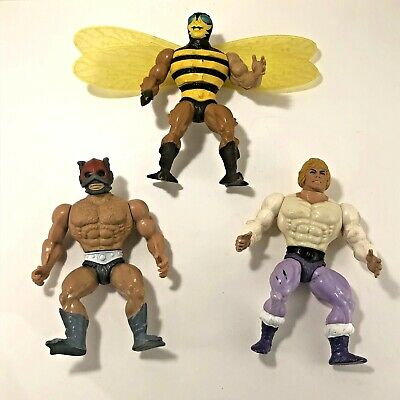 $19.50 • Buy Lot: 3 VTG Masters Of The Universe Action Figure Buzz Off Prince Adam Zodac MOTU