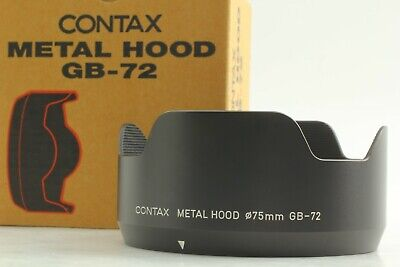 $ CDN253.19 • Buy [Near Mint] Contax GB-72 Metal Hood For 645 Planar 80mm & 55mm Lens From JAPAN