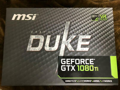 $ CDN5679.09 • Buy MSI GeForce GTX 1080 Ti DUKE 11G OC Graphics Card