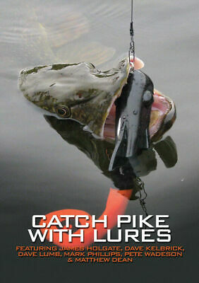 £7.99 • Buy NEW Catch Pike With Lures Holgate Lumb Kelbrick Et Al Lure Fishing Angling Book