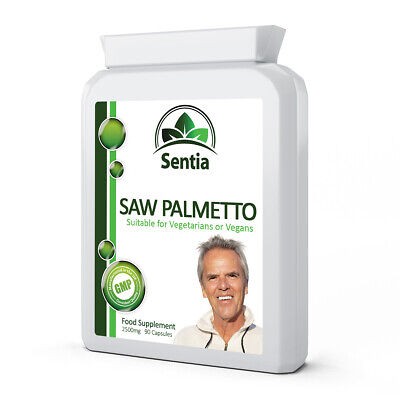 £18.99 • Buy Saw Palmetto X 90 Caps. Hair Loss - Prostate - Urinary Function. Health Support.