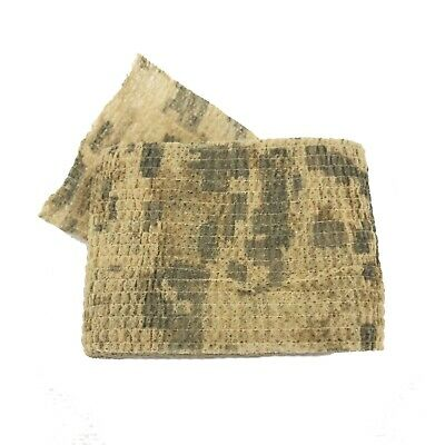 £3.95 • Buy Desert Lizard Camo Tape Woodland Stealth Hunting Camouflage Gun Wrap UK