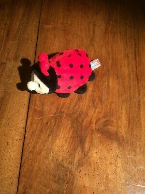 Peeko Ladybird Plush Toy • 2£