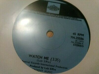 Labi Siffre - Watch Me - 1972 Pye Single • 1£