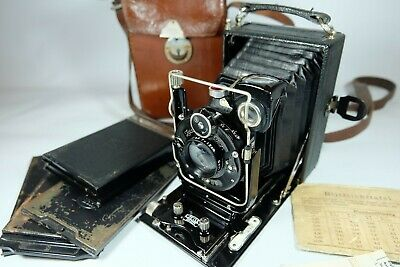 Old Vintage  ZEISS IKON IDEAL 250/3 Plate Camera  Please Read • 100£