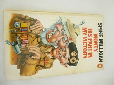 Spike Milligan Book Monty And My Victory  • 3.45£