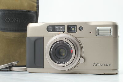 $ CDN442.87 • Buy [MINT In Case] Contax TVS Data Back Point & Shoot 35mm Film Camera From JAPAN