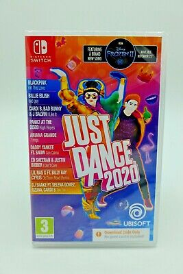 New - Nintendo Switch - Just Dance 2020 - Download Only No Game Card • 19.99£