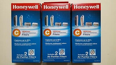 Honeywell HRF-C2 HEPAClean C Air Purifier Filters (lot Of 6 Filters): New/Sealed • 35.43£