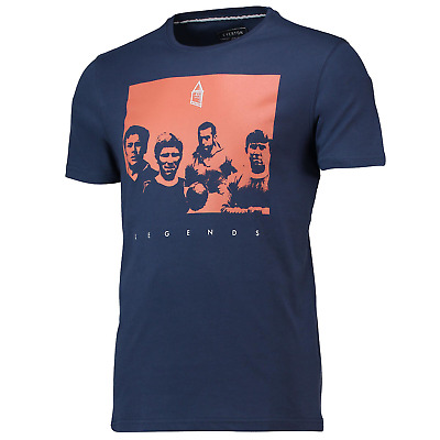 Everton Football T-Shirt Men's Fanatics Terrace Legends T-Shirt - Navy - New • 11.99£