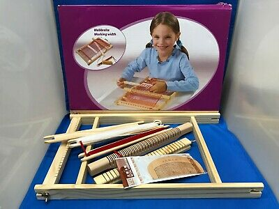 Kid's Weaving Loom Frame And Kit - Children's Craft Set New Boxed Arts & Crafts • 16£