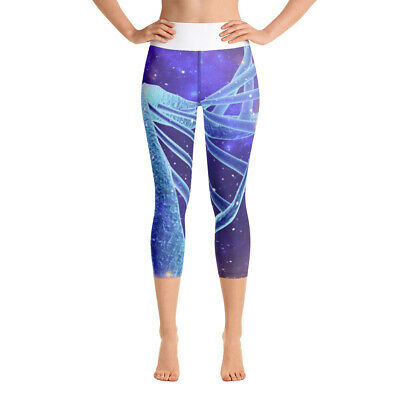 £27.68 • Buy Yoga Capri Leggings Cosmic DNA