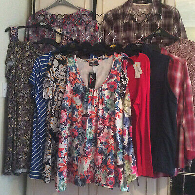 Ladies UK Size 20 Tops  New & Used  Make Your Own Bundle *See Postage Offer* • 3.95£