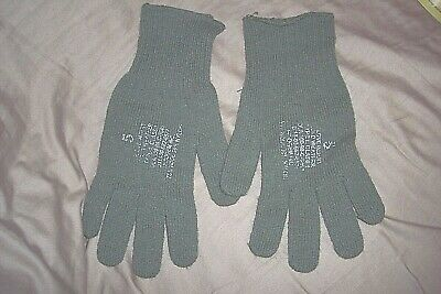 $11.40 • Buy Genuine Military Wool Gloves Leather Glove Liners Glove Inserts Size 5 Lg. / XL