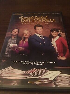 AU52.18 • Buy Hallmark Signed Sealed Delivered From Paris Like New(dvd)oop Rare Romance Comedy