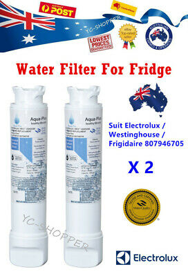 AU79.95 • Buy 2 X Westinghouse French Door Fridge Water Filter For WHE6060SA