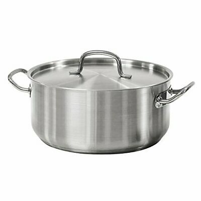$ CDN68.62 • Buy Tramontina 80117/576DS Pro-Line Stainless Steel Covered Dutch Oven, 9-Quart