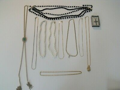 $ CDN12.53 • Buy Vintage Costume Jewelry Lot Pre-Owned, All Neckless Items