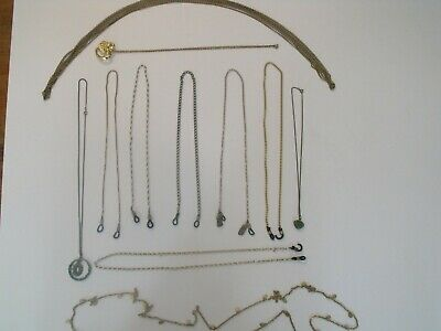 $ CDN12.53 • Buy Vintage Costume Jewelry Lot Pre-Owned, Neckless, Eye Glass Strap Items