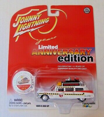 Johnny Lightning Ghostbusters Ecto-1A 1959 Cadillac Anniversary Edition • 8.68£