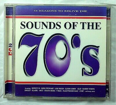 Various – (44 Reasons To Relive The) Sounds Of The 70's CD 1998 • 2.44£