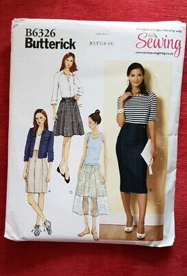 🌈 NEW SKIRTS BUTTERICK Sewing Pattern Dressmaking LADIES Girls  FreePost • 7.99£