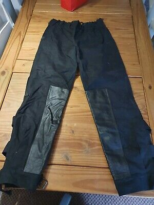 Speedwear Classic Wax Cotton Motorcycle Trousers Size Small • 25£