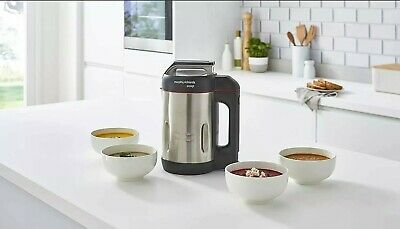 Morphy Richards Saute And Soup Maker 1.6L - 4 Settings - Brushed Stainless Steel • 62£
