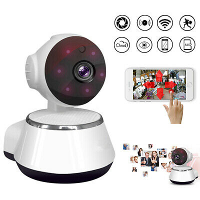 HD 720P Wireless WIFI IP CCTV Camera Smart Home Night Vision Security Indoor • 17.59£