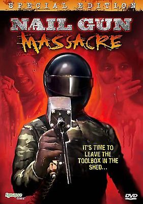 Nail Gun Massacre DVD Bill Leslie(DIR) 1987 • 17.15£
