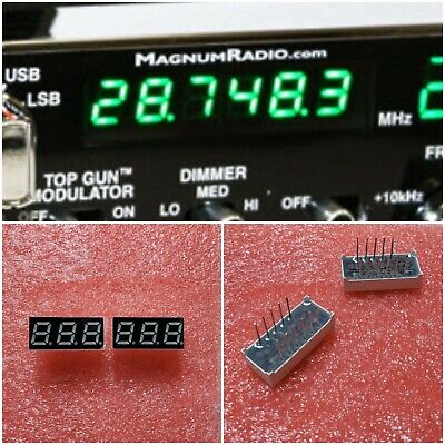$34.49 • Buy Magnum S6 & S9 10 Meter Radio Green Frequency Display Led's EKL Components NOS