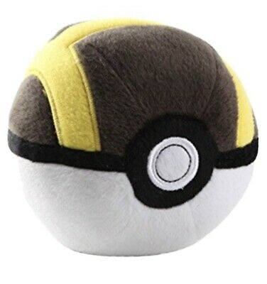 Pokemon Poke Plush Ultra Ball 7  Brown & Gold • 6.48£