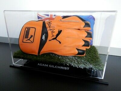 AU359.99 • Buy ✺Signed✺ ADAM GILCHRIST Wicket Keeping Glove COA Australia 2021 Shirt Cricket