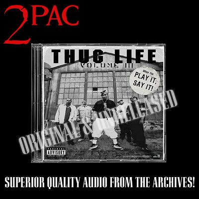 2pac - Thug Life Vol III OG Album Raw Promo Unreleased Big Syke Tupac Rated R • 35£