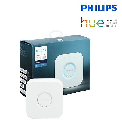 AU72.22 • Buy Philips Hue Bridge Hub V2 Wireless Lighting Controller Unit For Hue Bulbs