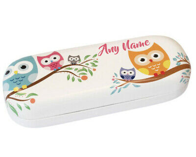 £12.99 • Buy Personalised Any Name Cute Owl Children's Glasses Case