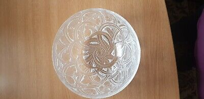 Lalique Glass Pinsons Bowl, Signed And In Perfect Condition. Never Used. • 150£