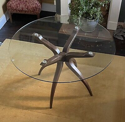 AU645.70 • Buy Glass Round Dining Table