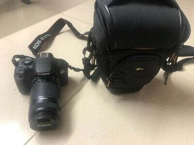 Canon EOS 650D Camera. Black With EFS55-250mm Zoom Lens And Carry Case. • 400£