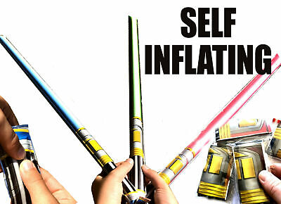 £2.99 • Buy 3x Self Inflating Star Light Saber Wars Toy Boys Fun Birthday Party Bag Fillers