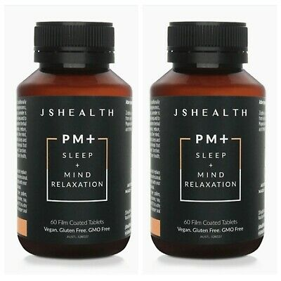 AU79 • Buy X2 JS HEALTH PM + Sleep Mind Relaxation 60 Caps RRP $119.00