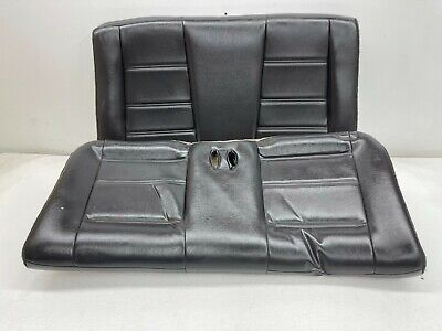 $200 • Buy 1999-2004 OEM Ford Mustang Convertible Rear Seat Back Seat Charcoal |S9373