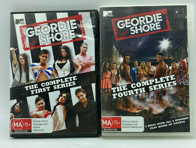 £10.86 • Buy Geordie Shore - Complete First & Fourth Series - DVD - Free Post